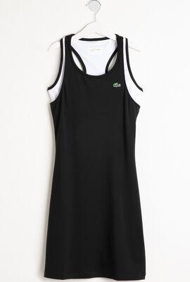 Lacoste Sport Technical Jersey Racerback Tennis Dress