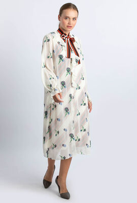 Contrast Slip Dress