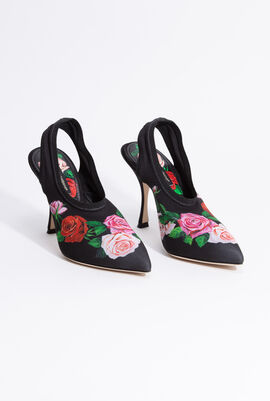 Floral Sling BACK Fabric