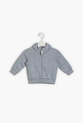 Zipped Hoodie Jacket