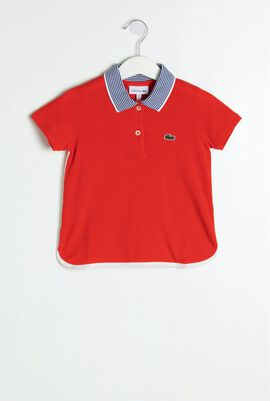Colourblock Polo Shirt