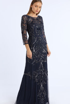 Beaded Gown