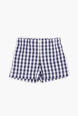 Plaid Boxer Shorts