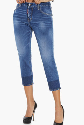 Cool Girl Cropped Jeans