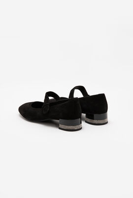 Chloo Suede Mary Jane Pumps