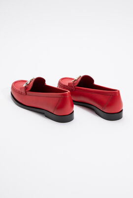 Rolo Gancini Leather Moccasin