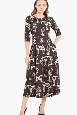 Volonta Print Dress