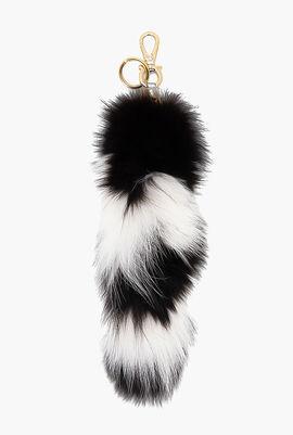 Fur Keychain