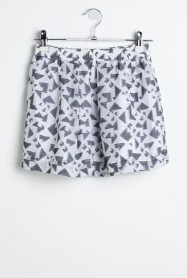 Front Pockets Skirt