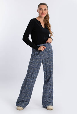 Spargi Printed Wide Legs Trouser