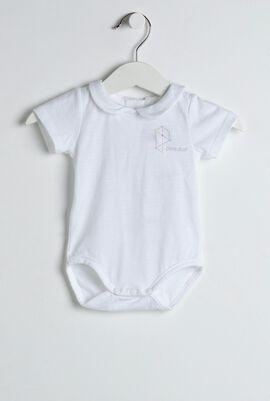 White Dylan Baby Onesie