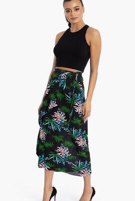 Sea Lily Midi Skirt