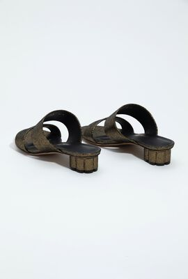 Belluno Double Band Slide Sandal