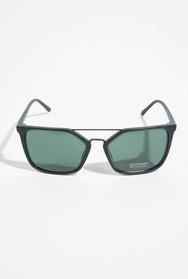 Square Sea Green Sunglasses