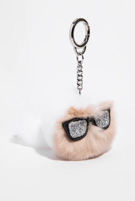 Ikonik Fur Keychain