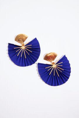 Kam Sparkle Fan Earrings