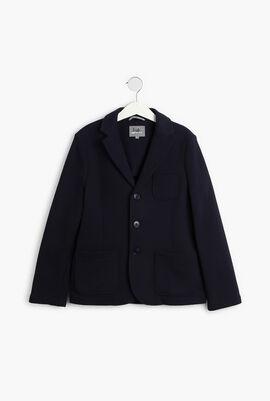 Regular Fit Cotton Blazer