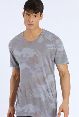 Camouflage Stretch T-Shirt