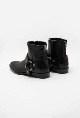 Leather Romare Belt boots