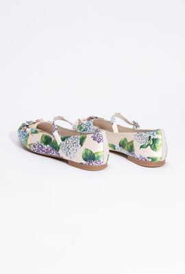 Floral Ballerina Shoes