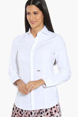 Plain Cotton Long Sleeve Shirt