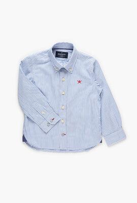 Two  Stripes  Long Sleeve Shirt
