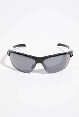Mirrored Wrap Around Sunglasses