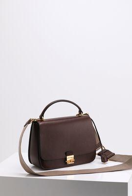 Nutmeg Medium Leather Shoulder Bag