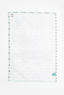 Croco Canvas Tea Towel