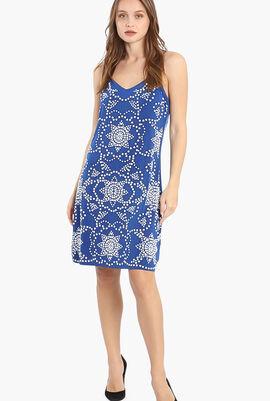Embellished Slip Dress