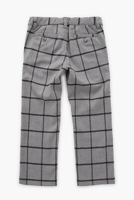Checkered Print Trouser
