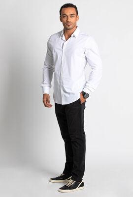 Basic Slim Fit Long Sleeve Shirt