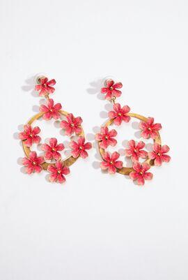 Wild Rose Drop Earrings