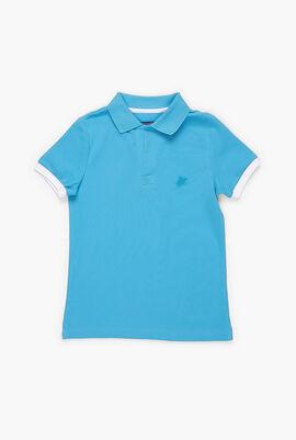 Cotton Pique Polo Shirt