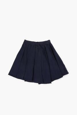 Round Pleats Skirt