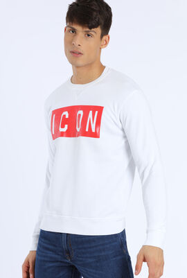 Chest Printed Design Sweatshirt