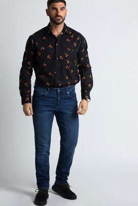 Powerflex Blue Newburg Slim Fit Jeans