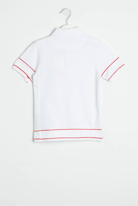 Logo Sleeves Polo Shirt