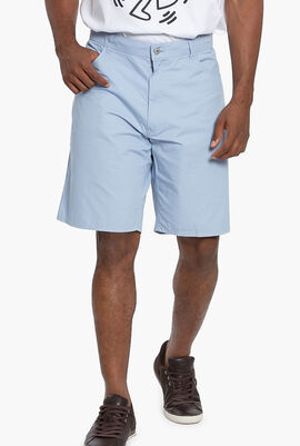 Regular Fit 5-Pocket Bermuda Shorts