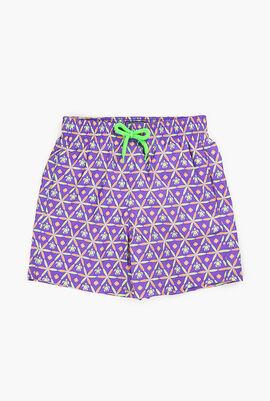 Ceramic Print Swim Shorts