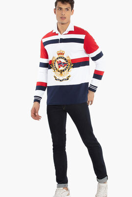 Classic Fit Long Sleeves Polo Shirt