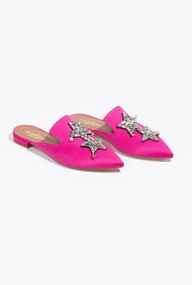 Firenze Stars Flat Mules