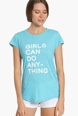 Skinny Graphic Print T-Shirt