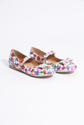 Floral Print Mini Mary Jane
