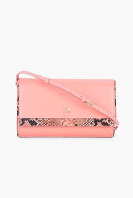 Lucille Leather Clutch