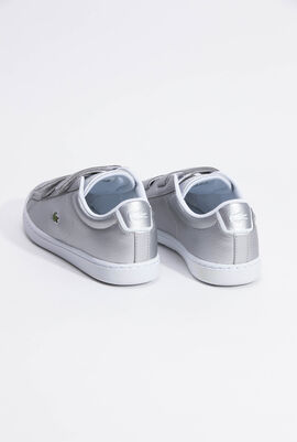 Carnaby Evo Strap Silver Sneakers