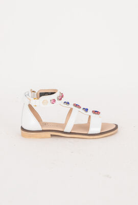 Evelin Leather Sandals