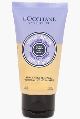 Shea Hands and Body Lavender Liquid Soap, 50ml