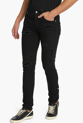Ripped Stretch Jeans