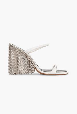Chandelier Fringe Sandals